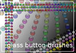 Glass button brushes
