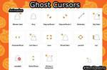 Cursores Fantasmas - Ghost Cursors - Halloween
