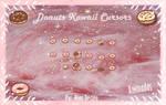 Donuts Kawaii Cursors Dona Donas