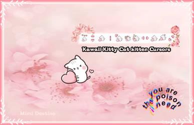 Kawaii Kitty Cat kitten Cursors
