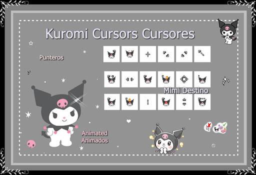 Kuromi Cursors Cursores