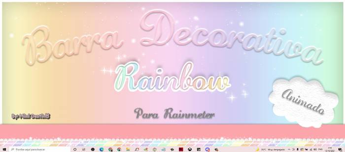 Barra Rainbow Animada 2 By Mimi Destino Rainmeter