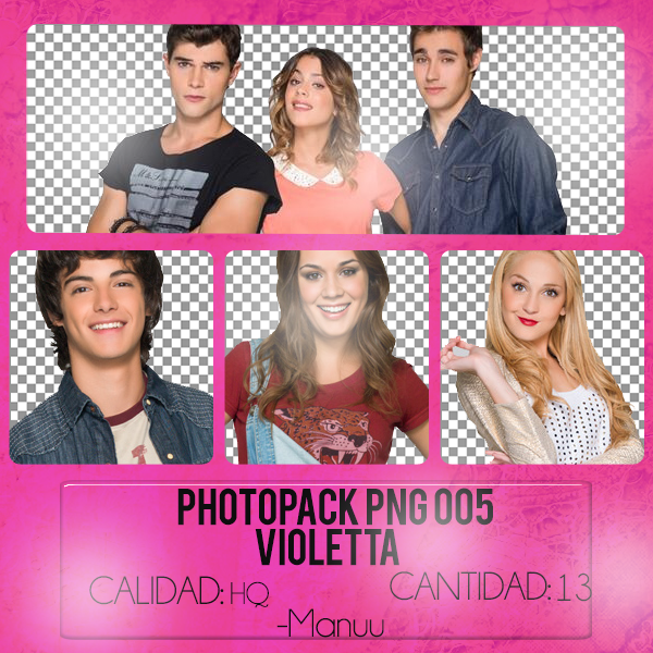 Photopack png 005. Violetta by Manuuselena