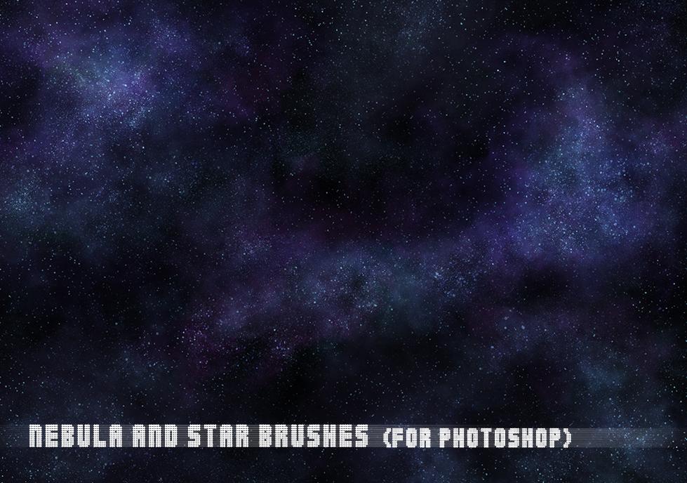 Nebula and Star Brushes by ryodita