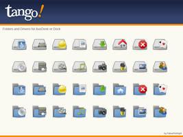 Tango Dock AveDesk Icons by FabiusMcKnight