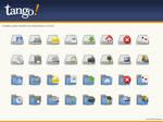 Tango Dock AveDesk Icons