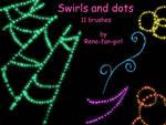 Swirls and Dots 11 brushes