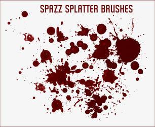 Spazz Splatter Brushes by Spazz24