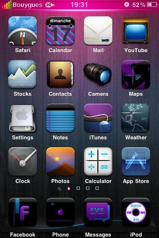iPhone Theme by davcoolman123