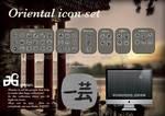 Oriental icon set by JGi-desIgn