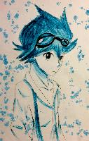 Blue Knight by OcFreeDinosaur