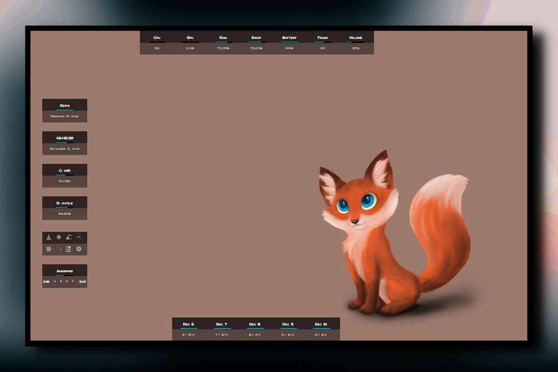 Foxy VR1.1 by sephirotess