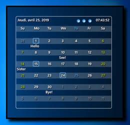 Calendar  Notes VR1.1