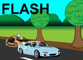 Flash Request: Rainbow Dash is Most Wanted by Dekomaru