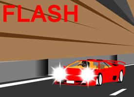 Flash Request: Brawl's Cannonball Run by Dekomaru
