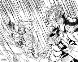 Link and Ganon by jessemunoz