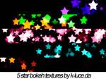 Star Bokeh Textures