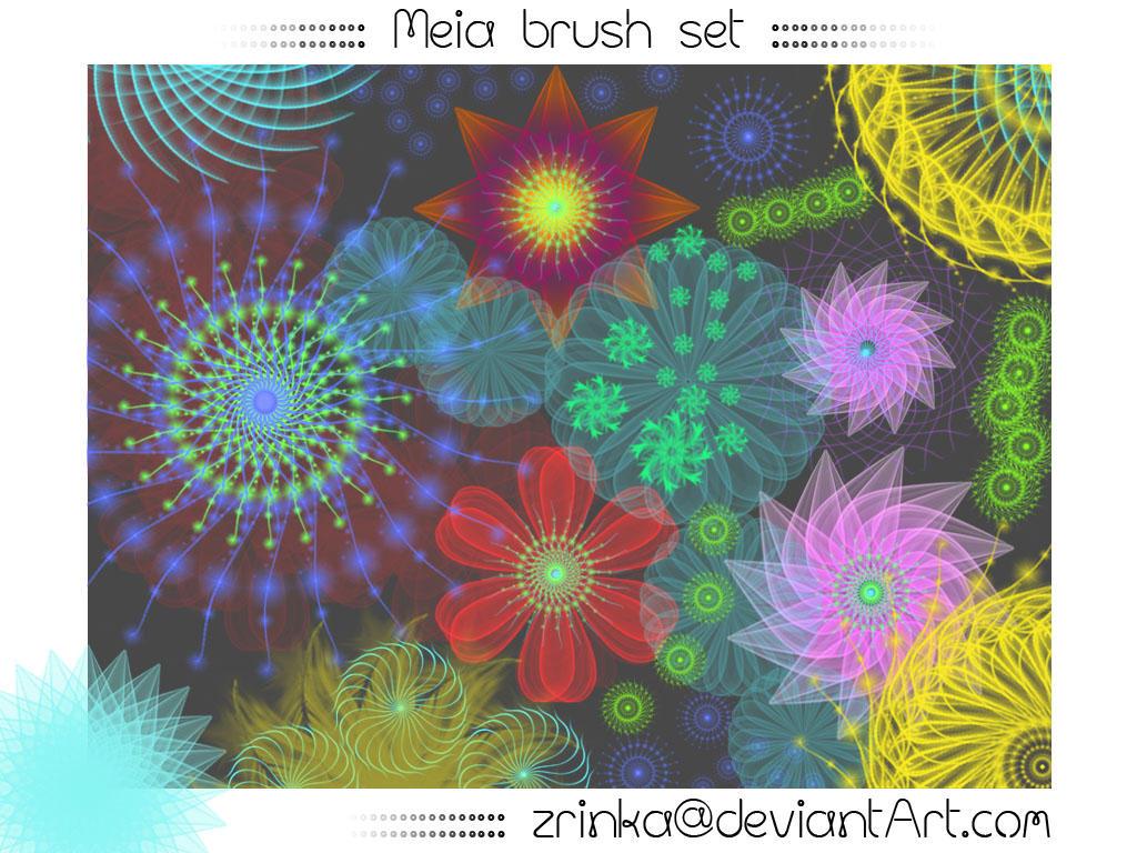 Meia Brush Set by Zrinka