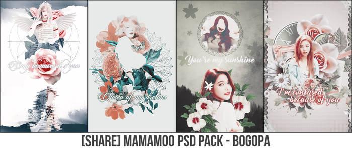 [SHARE] MAMAMOO PSD PACK - BOGOPA