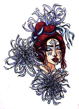 Chrysanthenum Girl