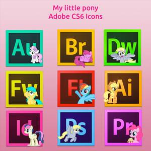 My little pony-Adobe CS6 icons