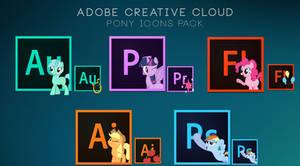 Adobe Creative Cloud - Pony icons pack