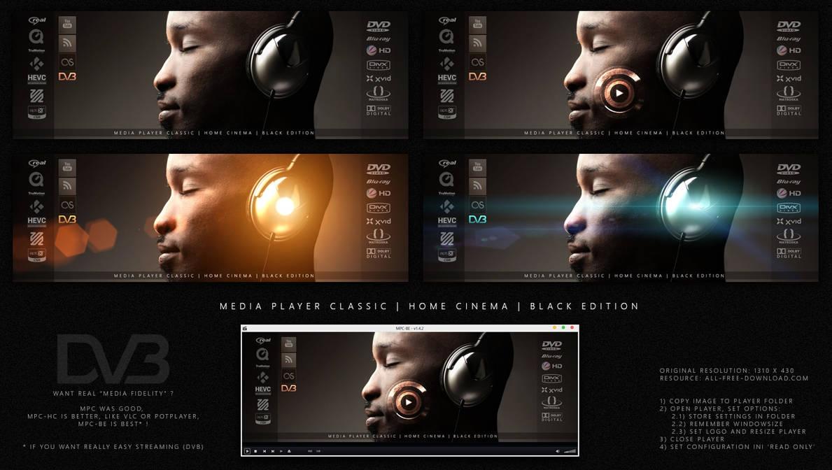 media player classic black edition vs home cinema