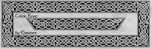 Celtic Knot by Errance