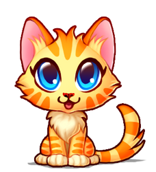 Cute kitten ALIVE by Tiliantti