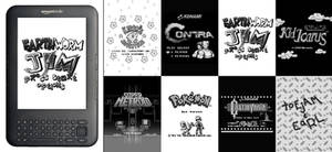 Retro Game Kindle Screensavers