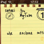 iPod touch sketchnote theme by mb-neo