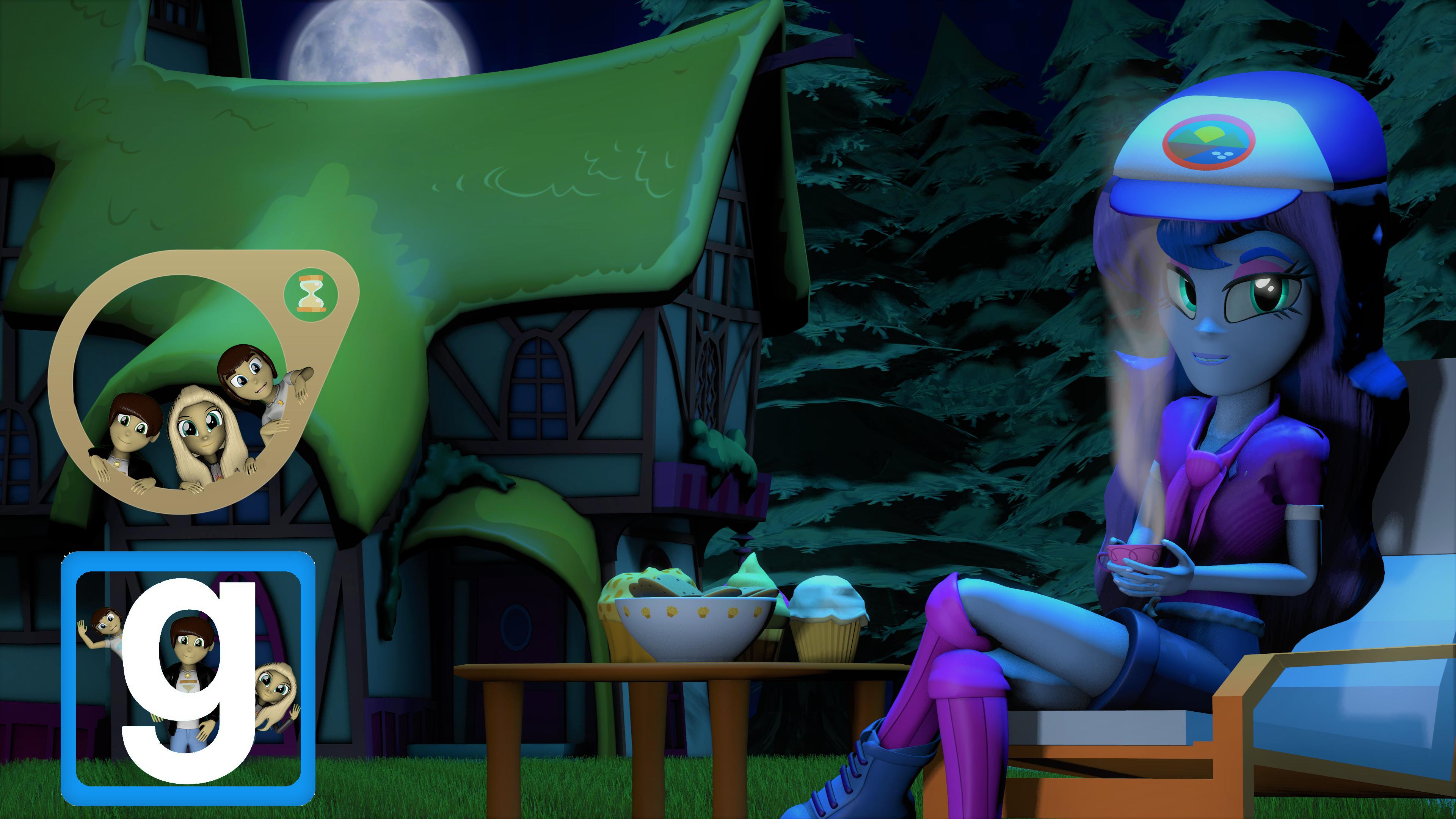 [EQG] Camper Vice Principal Luna [SFM] [Gmod] by EmpireOfTime
