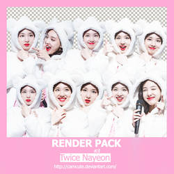 #3 PACK RENDER - NAYEON by camcute