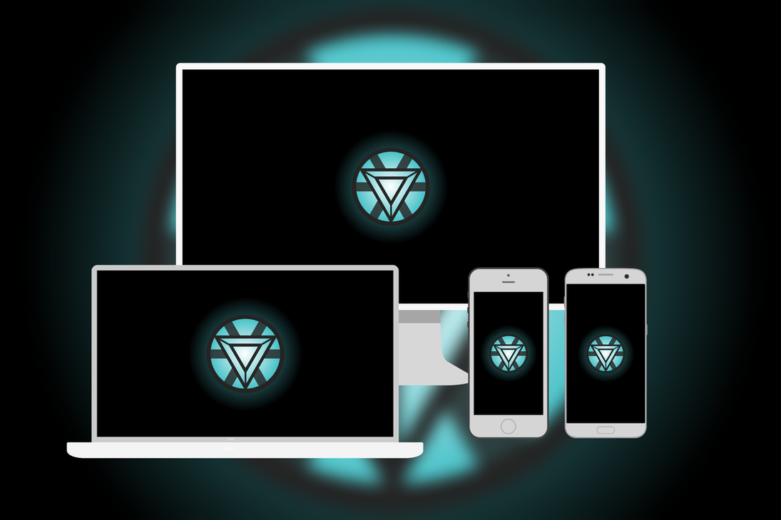 Iron Manu0027s Arc Reactor Wallpaper (Multi Devise) By B3loid ...