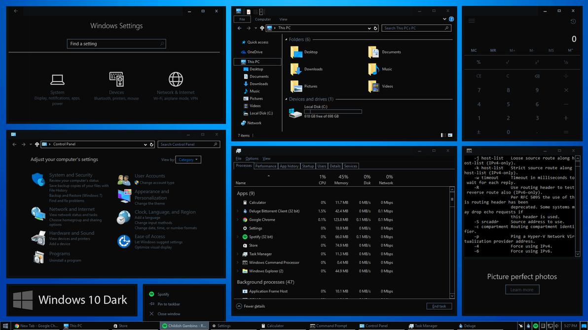 Windows 10 Themes For Windows 7