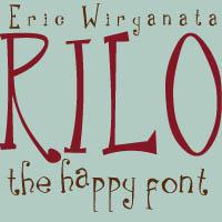 Rilo the Font by sampratot
