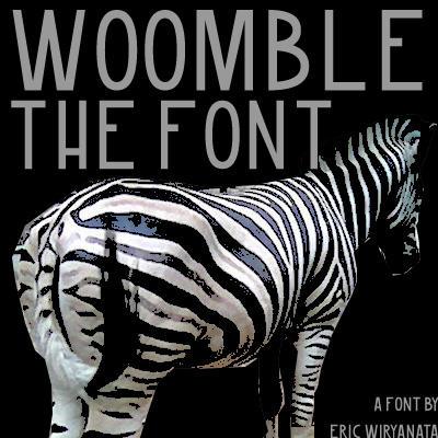 Woomble-Font by sampratot