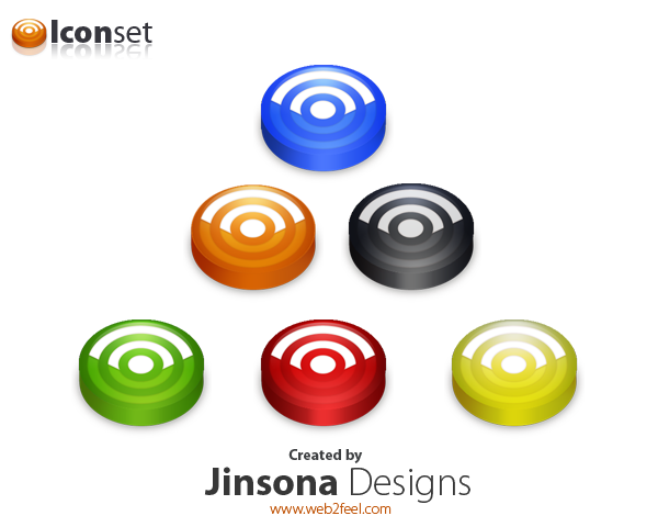 Rss icons by jinsona