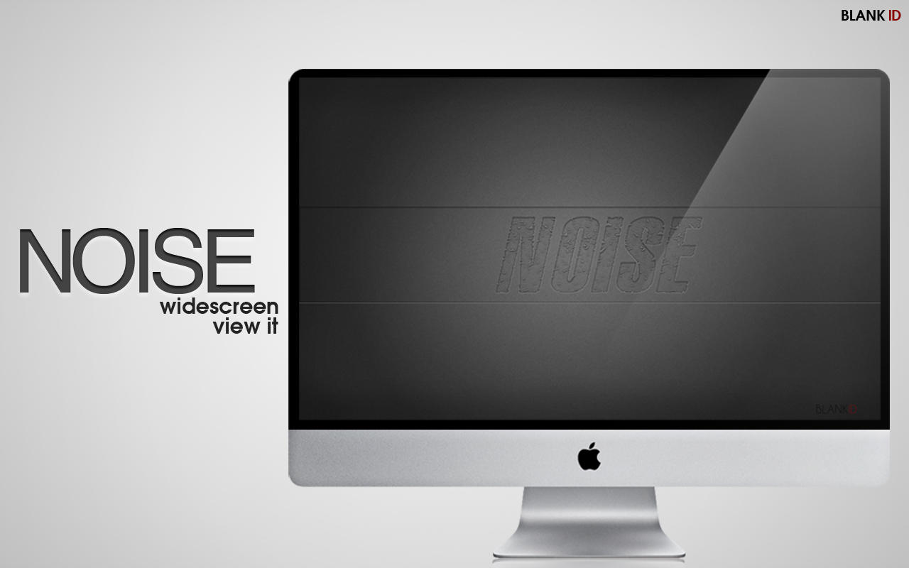 NOISE_wallpaper_Widescreen by BlankID