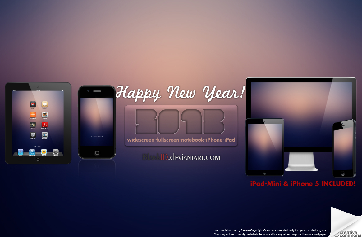 2013 New Year by BlankID