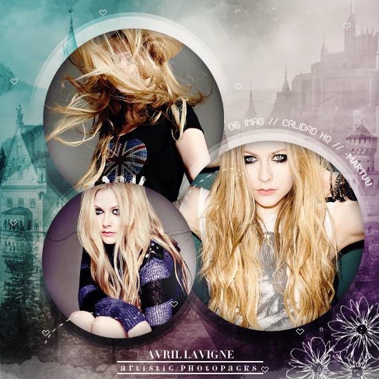 Photopack 001 - Avril Lavigne - ArtisticPhotopacks by iLoadedOnMyStar