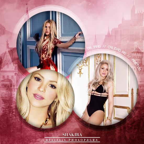 Photopack 004 - Shakira - ArtisticPhotopacks by iLoadedOnMyStar