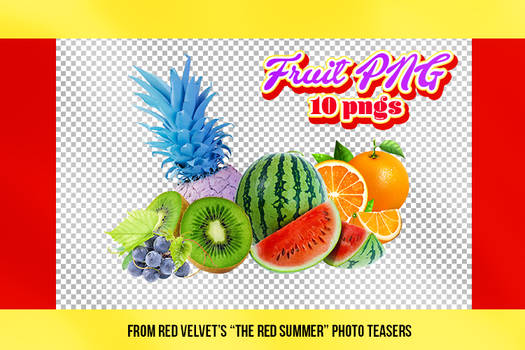 Fruit PNG (+The Red Summer - Red Velvet PNG)