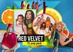 The Red Summer (Red Velvet) PNG Pack PT2.