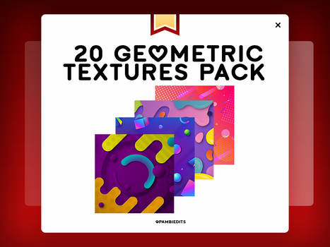 +Geometric Textures @pambiedits