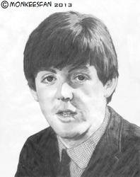 Paul McCartney, 1964 by ThePeculiarMissE