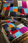 Scrap Yarn Blanket