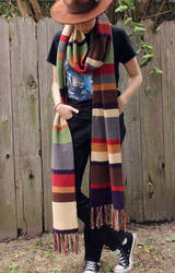 Now On Etsy: Doctor Who Scarves by ThePeculiarMissE
