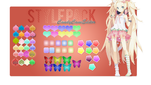 Style Pack - CandyCaneEditor [ Photoshop Styles ]