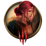 The Witcher 3 Icon : Triss Merigold by Nyu-One